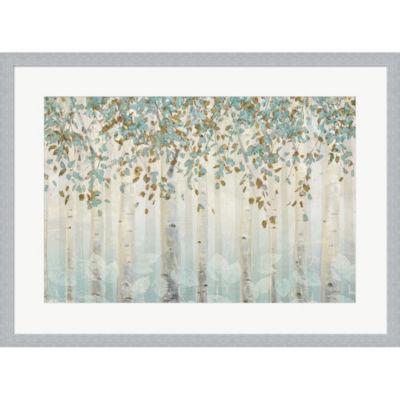 Metaverse Art Dream Forest I Framed Print Wall Art