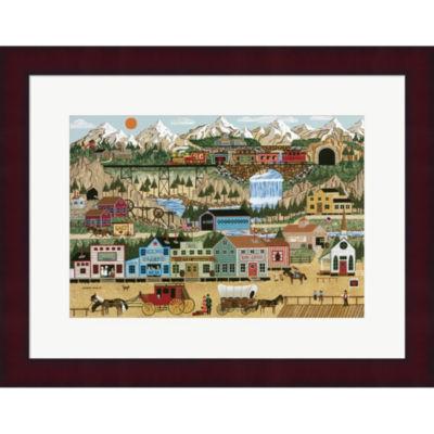 Lehi Valley Framed Print Wall Art
