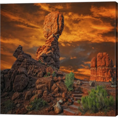 Metaverse Art Imagine... By Philippe Sainte-LaudyGallery Wrapped Canvas Wall Art