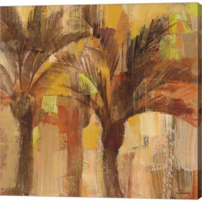 Metaverse Art Island Breeze I Gallery Wrapped Canvas Wall Art