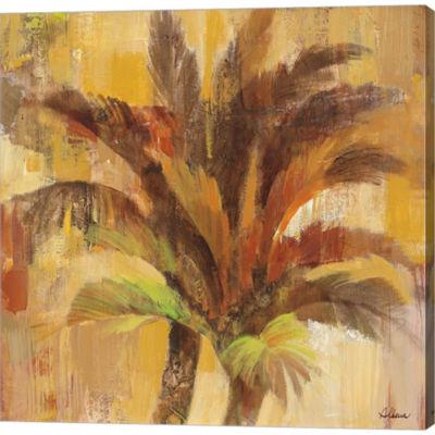 Metaverse Art Island Breeze II Gallery Wrapped Canvas Wall Art