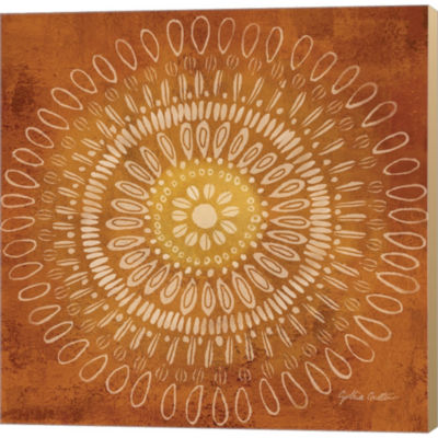 Metaverse Art Jacobean Medallions IV Gallery Wrapped Canvas Wall Art