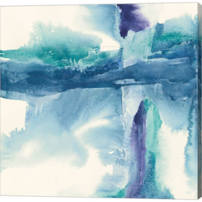 Metaverse Art Jewel Tones II Gallery Wrapped Canvas Wall Art