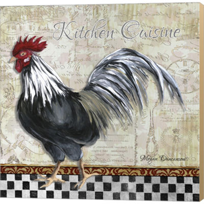 Metaverse Art Kitchen Cuisine II Gallery Wrapped Canvas Wall Art