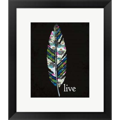 Metaverse Art Live Framed Print Wall Art