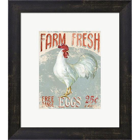 Metaverse Art Farm Nostalgia III Framed Print WallArt