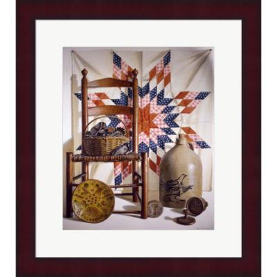 Metaverse Art Lone Star & Antiques Framed Print Wall Art