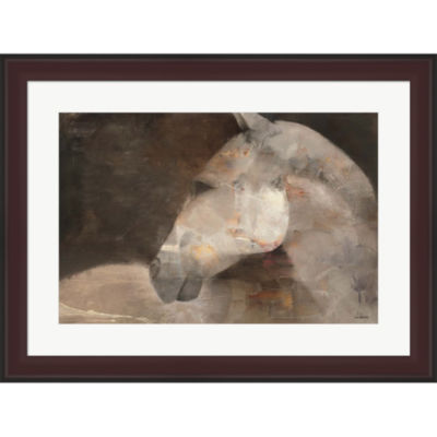 Metaverse Art Looking Back Framed Print Wall Art