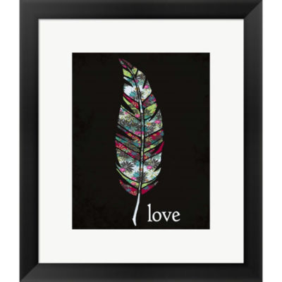 Metaverse Art Love Framed Print Wall Art