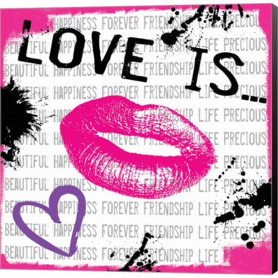 Metaverse Art Love Is 1 Gallery Wrapped Canvas Wall Art