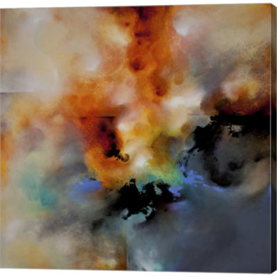 Metaverse Art Magic Sky Gallery Wrapped Canvas Wall Art