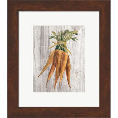 Metaverse Art Market Vegetables I Framed Print Wall Art