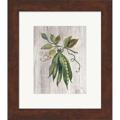 Metaverse Art Market Vegetables II Framed Print Wall Art