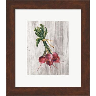 Metaverse Art Market Vegetables III Framed Print Wall Art