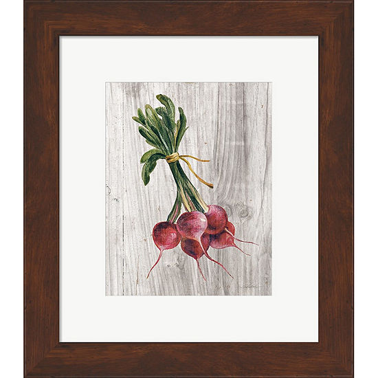 Metaverse Art Market Vegetables III Framed Print Wall Art
