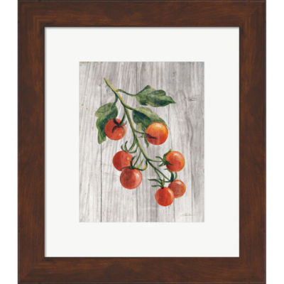 Metaverse Art Market Vegetables IV Framed Print Wall Art