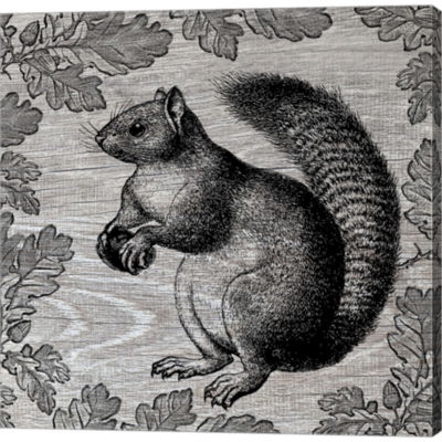 Metaverse Art Squirrel I Gallery Wrapped Canvas Wall Art