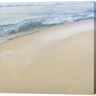 Beach Vi Gallery Wrapped Canvas Wall Art On Deep Stretch Bars