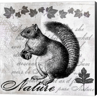 Metaverse Art Squirrel II Gallery Wrapped Canvas Wall Art