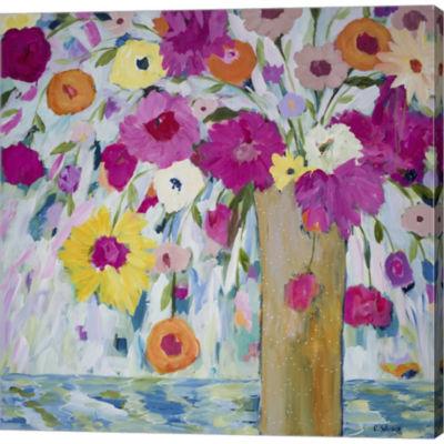 Metaverse Art Sunshine Daydream Gallery Wrapped Canvas Wall Art