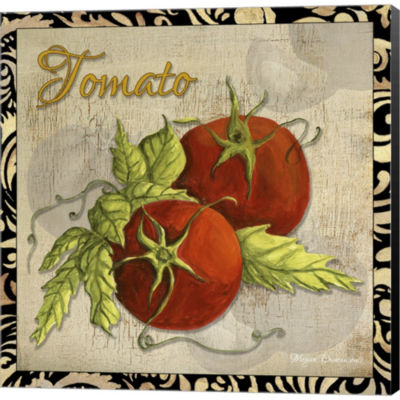 Metaverse Art Vegetables 1 Tomatoes Gallery Wrapped Canvas Wall Art