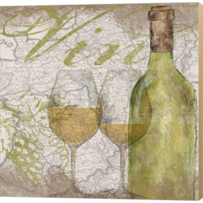 Metaverse Art Vino And Vin II Gallery Wrapped Canvas Wall Art