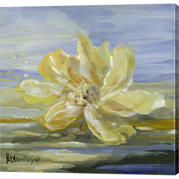 Metaverse Art Water Lillies 1 Gallery Wrapped Canvas Wall Art