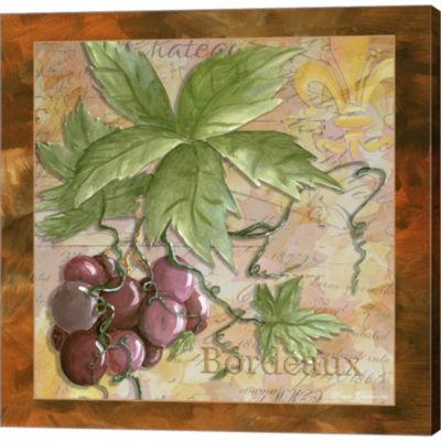 Metaverse Art Wine 12 Gallery Wrapped Canvas WallArt