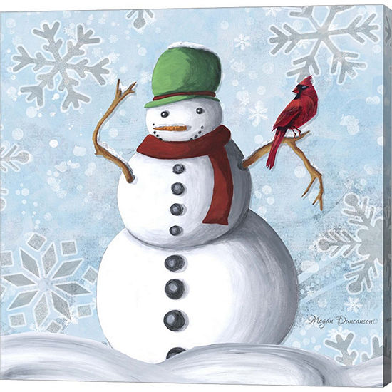 Metaverse Art Winter Cheer 2 Gallery Wrapped Canvas Wall Art