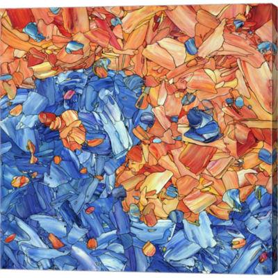 Metaverse Art Yin Yang Gallery Wrapped Canvas WallArt