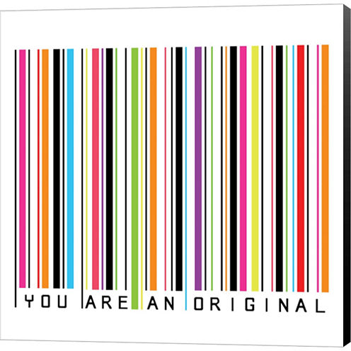 You Are An Original Gallery Wrapped Canvas Wall Art On Deep Stretch Bars