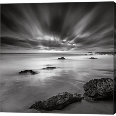 Dusk Gallery Wrapped Canvas Wall Art On Deep Stretch Bars