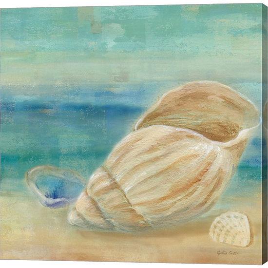 Metaverse Art Horizon Shells II Gallery Wrapped Canvas Wall Art