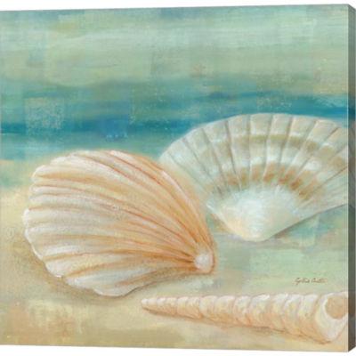 Metaverse Art Horizon Shells IV Gallery Wrapped Canvas Wall Art