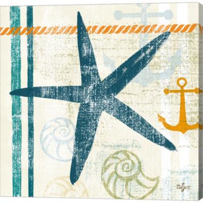 Metaverse Art Nautical Brights III Gallery WrappedCanvas Wall Art