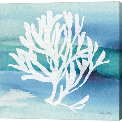 Metaverse Art Sea Life Coral I Gallery Wrapped Canvas Wall Art