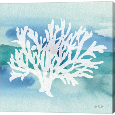 Metaverse Art Sea Life Coral II Gallery Wrapped Canvas Wall Art