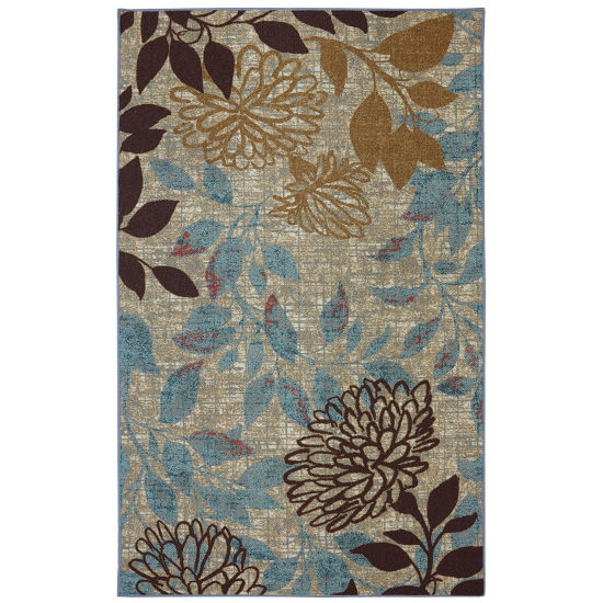 Mohawk Home Printed Indoor/Outdoor Printed Rectangular Rugs