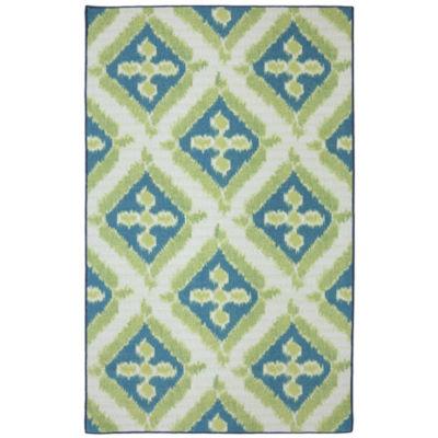 Mohawk Home Splash Indoor/Outdoor Printed Rectangular Rugs