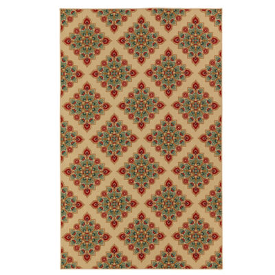 Mohawk Home Woodbridge Berkane Printed Rectangular Rugs