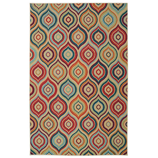 Mohawk Home Woodbridge Larache Printed Rectangular Indoor Rugs