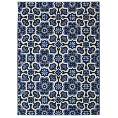 Mohawk Home Woodbridge Gardens Printed Rectangular Rugs