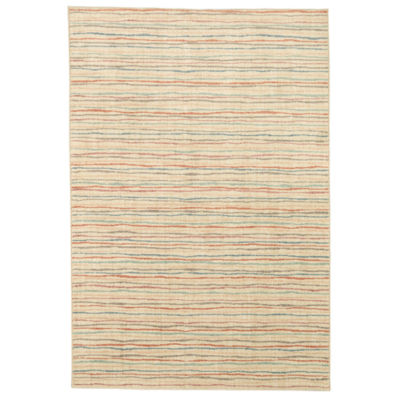 Mohawk Home Bayside Colored Lines Rectangular Rugs