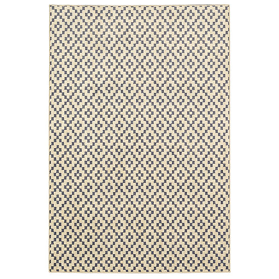 Mohawk Home Bayside Simple Lattice Rectangular Indoor Rugs