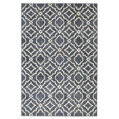 Mohawk Home Studio Carved Tiles Printed Rectangular Runner