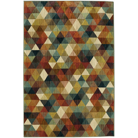 Mohawk Home Studio Diamonte Printed Rectangular Rugs