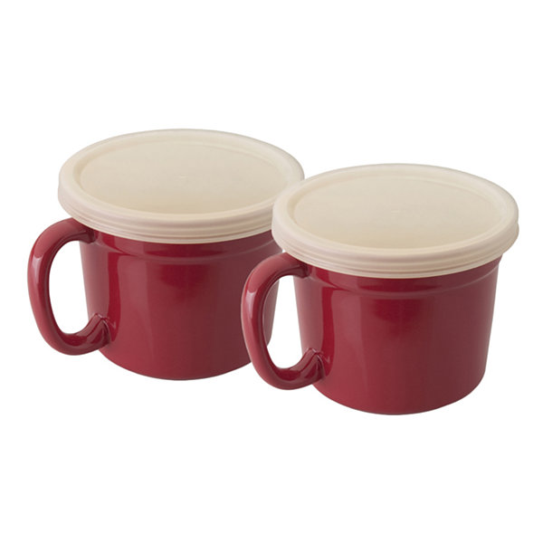 Geminis Covered Cup Set 4pc