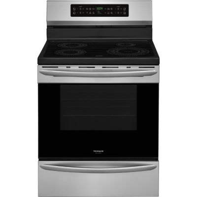 "Frigidaire Gallery Freestanding 30"" Induction Range Convection"