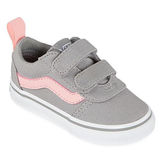 Vans Ward V Toddler Girls Skate Shoes
