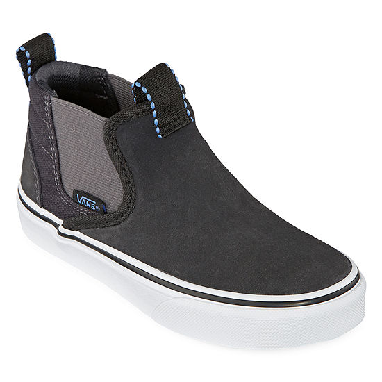 Vans Asher Mid Boys Skate Shoes